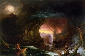Cole_Thomas_The_Voyage_of_Life_Manhood_1840
