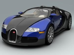 Fast-Bugatti-Veyron-blue-color