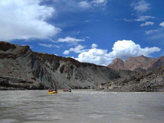 River rafting on the Zanskar (Wikipedia)